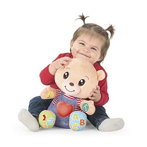 Chicco Teddy Orso delle Emozioni, Peluche Evolutivo Interattivo Bilingue Italiano/Inglese, Gioco Educativo con Emozioni… Giochi e giocattoli