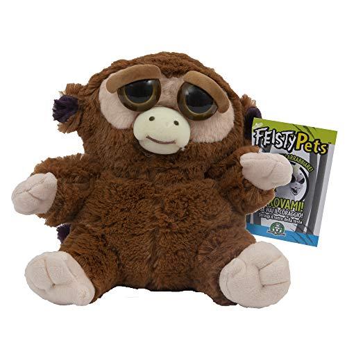 Giochi Preziosi Feisty Pets Peluche Scimmietta, 25 cm Giochi e giocattoli