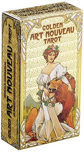 Golden art nouveau tarot Libri