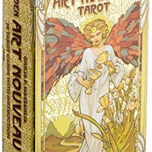 Golden art nouveau tarot Offerte e sconti