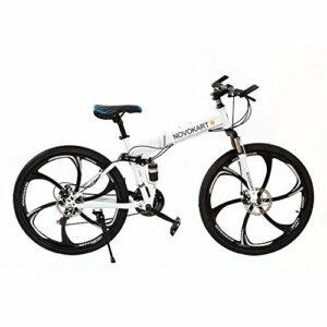 Dove acquistare DOMDIL – Mountain Bike Pieghevole per Uomini e Donne Adulti, Bicicletta Sportiva da Montagna, MTB con 21-Stage Shift, 24…