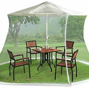 Dove acquistare Infactory Zanzariera Ombrello: Zanzariera per ombrelloni, 330 x 250 cm, Maglia 220, Bianca (Zanzariera Supporto per…