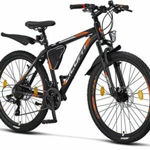 Dove acquistare Licorne – Mountain bike Premium per bambini, bambine, uomini e donne, con cambio Shimano a 21 marce