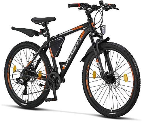 Licorne – Mountain bike Premium per bambini, bambine, uomini e donne, con cambio Shimano a 21 marce Biciclette