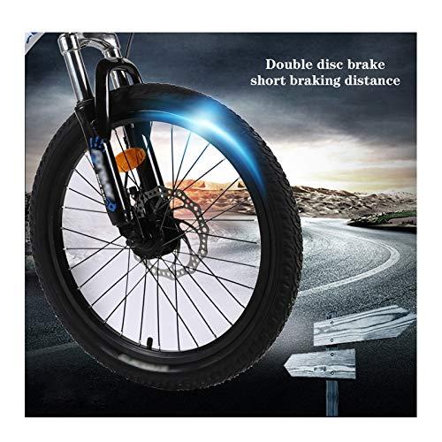OFFA Bici Bambino Bici da Ragazze, Bambini Boys Bicycle Mountain Mountain Bikes, 20 Pollici Biciclette A Disco A Disco A… Biciclette