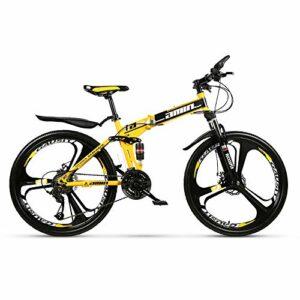 Dove acquistare HDM Mountain Bike Pieghevole per Uomini e Donne Adulti, Bicicletta Sportiva da Montagna, MTB con 21/24/27-Stage Shift…