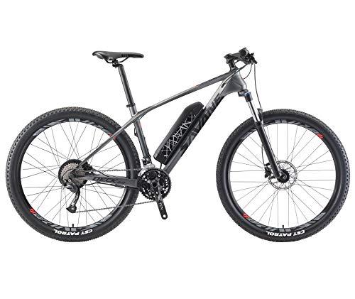 SAVADECK Knight3.0 Bici elettrica mountainbike in Carbonio E-bike E-MTB pedelec con Shimano 27 Velocità SAMSUNG Batteria… Biciclette