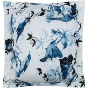 Federa Bird Ramage blu, 65x90 cm