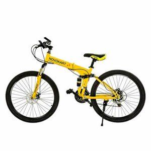 Dove acquistare DOMDIL – Mountain Bike Pieghevole per Uomini e Donne Adulti, Bicicletta Sportiva da Montagna, MTB con 24-Stage Shift, 26…