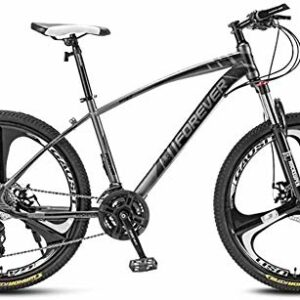Dove acquistare giyiohok Mountain Bike 27,5 Pollici Ruote a 3 Razze Blocco Forcella Anteriore off-Road Bicicletta Doppio Freno a Disco 4…