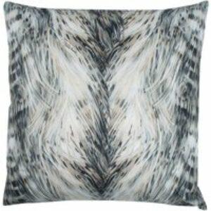 Cuscino arredo in seta Cinci naturale, 60x60 cm