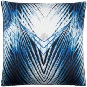 Cuscino arredo Charlize blu, 60x60 cm