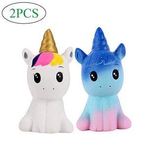 Dove acquistare Anboor Squishies 2 Pz Unicorno Cavallo Kawaii Morbido Lento Rising Profumato Squishies Giocattoli Antistress Giocattoli…