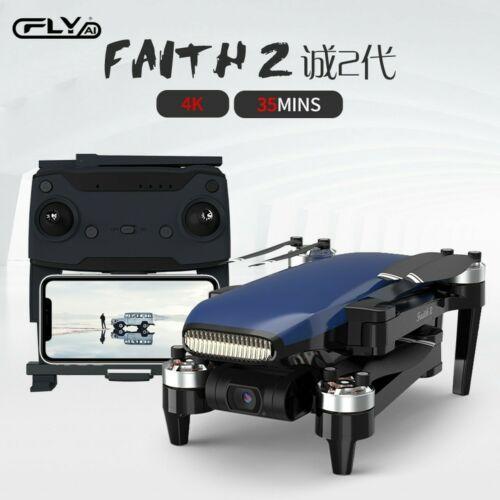 4K HD DRONE C-fly Faith 2 Pro CON 5.8GWIFI 5KM FPV GPS 3-axis gimbal-35 m VOLO Droni e modellismo dinamico