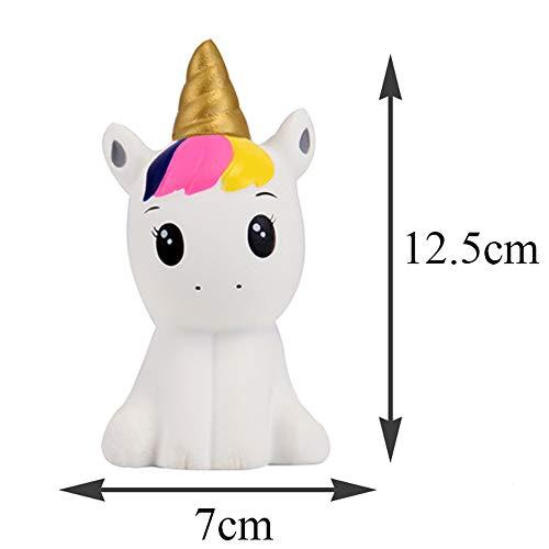Anboor Squishies 2 Pz Unicorno Cavallo Kawaii Morbido Lento Rising Profumato Squishies Giocattoli Antistress Giocattoli… Giochi e giocattoli