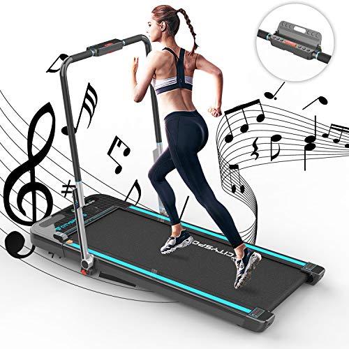 CITYSPORTS Tapis roulant Leggero Treadmill Elettrico, Macchina da Corsa per Fitness, Attrezzatura da Palestra per Tapis… attrezzature sportive