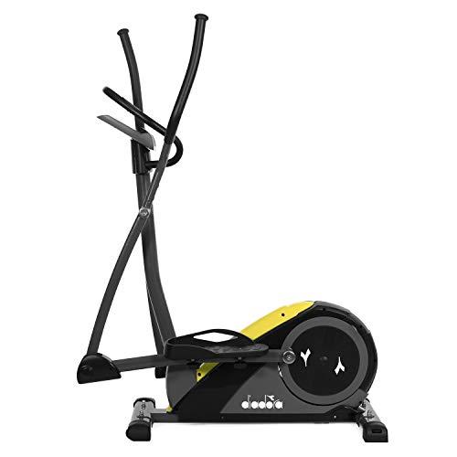 Diadora Fitness Nowa Cross, Bike Ellittica Unisex Adulto, Giallo-Nero attrezzature sportive