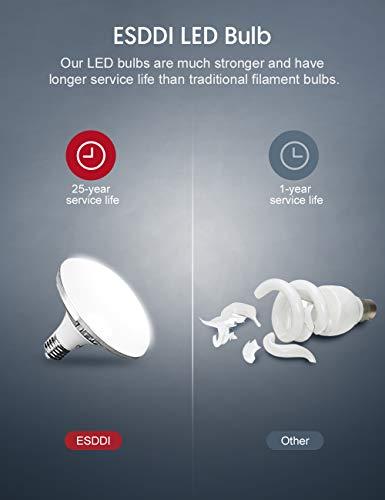 ESDDI Softbox Led 900W Luci Set Fotografico Professionale con 5400K E27 Socket Light, 2 Riflettori 50 x 50 cm,2… Foto e Video