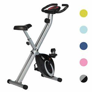 Ultrasport F-Bike Design, Cyclette da Allenamento, Home Trainer, Fitness Bike Pieghevole con Sella in Gel, con… attrezzature sportive
