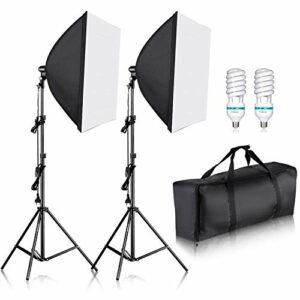 Dove acquistare Neewer 700W 60x60cm Softbox con E27 Presa Elettrica Kit di Illuminazione per Ritratto da Studio Fotografico, Fotografia…