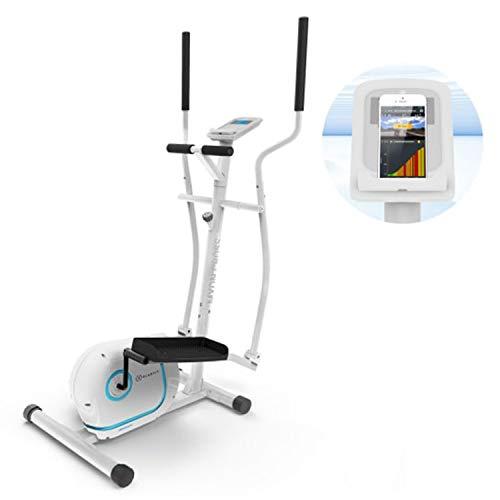 KLAR FIT Myon Cross – Ellittica, Cyclette, Telaio Certificato EN957, Volano 12 kg, Frenatura Magnetica, Supporto per… attrezzature sportive