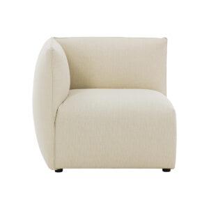 Angolo divano design in tessuto naturale MODULO