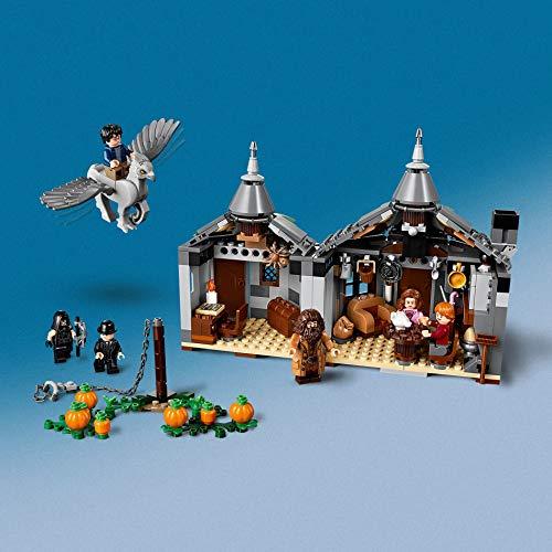 LEGO HarryPotter LaCapannadiHagrid:IlSalvataggiodiFierobecco, Playsetcon la Figura dell'Ippogrifo, Idea Regalo per Gli Amanti del Mondo della Magia, 75947 Giochi e giocattoli