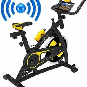 Dove acquistare Nero Sports Bluetooth Cyclette Aerobica da Spinning Allenamento Indoor Fitness Cardio Spin Bike