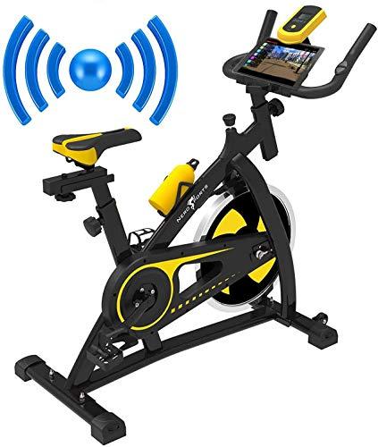 Nero Sports Bluetooth Cyclette Aerobica da Spinning Allenamento Indoor Fitness Cardio Spin Bike attrezzature sportive