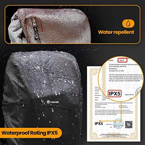 TARION RB-02 Zaino Fotografico Impermeabile Zanio Fotocamera Impermeabile IPX5 per Reflex Obiettivi Treppiede Portatile… Foto e Video