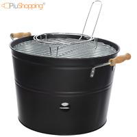 Dove acquistare Barbecue braciere portatile in metallo ferro e acciaio a legna e carbonella BBQ