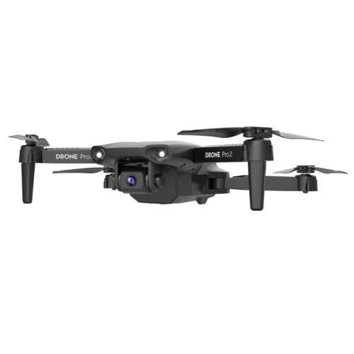 DRONE QUADRICOTTERO PIEGHEVOLE CON 2 TELECAMERE 4K TELECOMANDO O SMARTPHONE WIFI Droni e modellismo dinamico