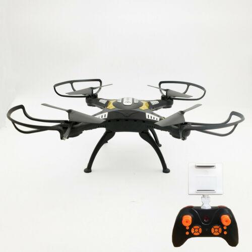 DRONE QUADRICOTTERO RADICOMANDATO HEADLESS WIFI FPV CAMERA HD VIDEO FOTO USB LED Droni e modellismo dinamico