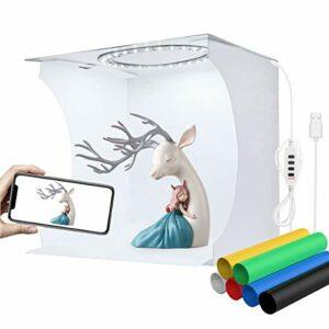 Dove acquistare YOTTO Tenda Studio 24x23x22cm fotografico portatile Fotografia Luce Tenda 64 LED Scatola Pieghevole Mini Light Box Con…
