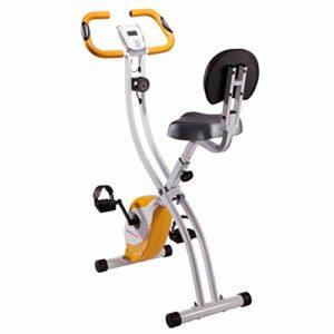 Ultrasport Unisex F-Bike Advanced Exercise Bike, Display LCD, Home Trainer Pieghevole, Livelli di Resistenza Regolabili… Sport e fitness