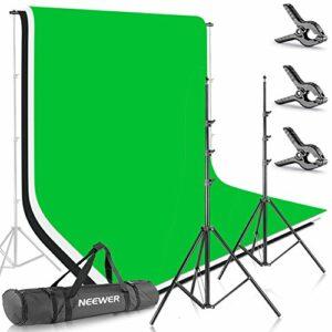 Dove acquistare Neewer 2,6m*3m Supporto per Fondale & 1,8m*2,8m Sfondo (Bianco, Nero, Verde) per Ritratti, Fotografia di Prodotti e…