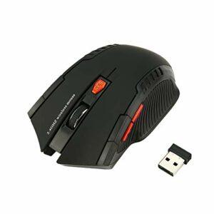 Greatangle WH109 Mouse Ottico Wireless Portatile a 2,4 GHz con Ricevitore USB Progettato per Il Gioco da Ufficio in casa… Best Sellers