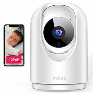 Dove acquistare 1296P Telecamera Wi-Fi Interno, Mibao Videocamera Sorveglianza interno wifi con Super Visione Notturna / Audio…