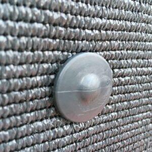 Dove acquistare 30 clip di fissaggio GRIPNET trattate anti-UV per tela di ocultacion su pannelli rigidi (diametro perno 5 mm)