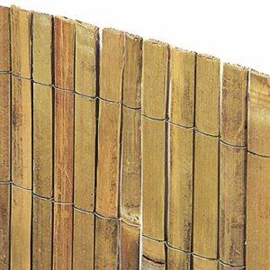 VERDELOOK Arella Beach in cannette di Bamboo 1.5×3 m, per recinzioni e Decorazioni Casa e giardino