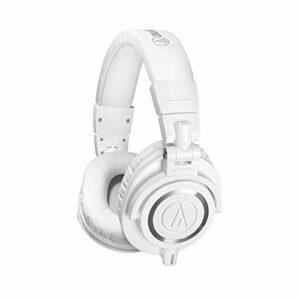 Audio Technica Pro ATH-M50XWH Cuffie Monitor Professionali, Bianco Cuffie da studio