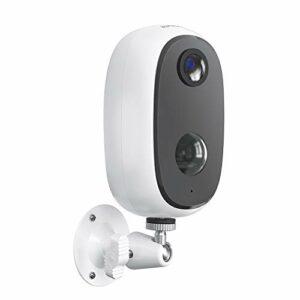 ieGeek Telecamera WiFi Interno / Esterno Batteria 10000mAh Senza Fili, FHD 1080P Telecamera di Sicurezza con Rilevamento… Sicurezza e videosorveglianza