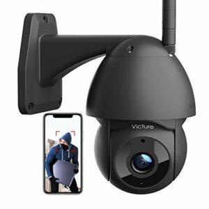 Victure Telecamera WiFi Esterno Telecamera 1080P con Vista 360° Visione Notturna Impermeabile IP66 Rilevamento del… Sicurezza e videosorveglianza