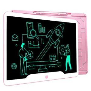 Richgv Tavoletta Grafica LCD Writing Tablet, 15 Pollici Elettronico Tablet da Scrittura Digitale, Portatile Tavoletta da… Informatica