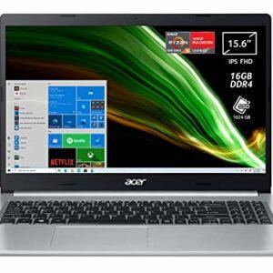 Dove acquistare Acer Aspire 5 A515-45-R54J Pc Portatile, Notebook con Processore AMD Ryzen 5 5500U, RAM 16 GB DDR4, 1024 GB PCIe NVMe…