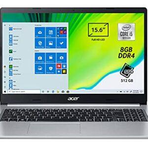 Acer Aspire 5 A515-55-509R Pc Portatile, Notebook con Processore Intel Core i5-1035G1, Ram 8 GB DDR4, 512 GB PCIe NVMe… Offerte e sconti