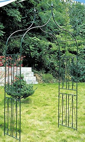 Arco Romantico Piante rampicanti Metallo 60x130x265cm Casa e giardino