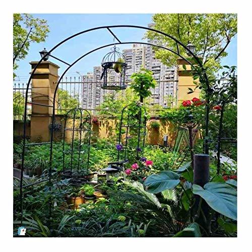 Arco per rampicanti Arco Da Giardino Di Montaggio Per Metallo Resistente Prato Da Giardino Impermeabile Impermeabile Per… Casa e giardino