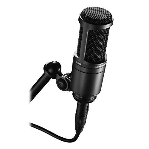 Audio-Technica AT2020, Microfono Professionale da Studio Cardioide a Condensatore Strumenti e accessori musicali