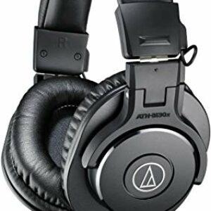 Audio Technica ATH-M30x Cuffie Monitor Professionale e per Dj, Nera Strumenti e accessori musicali
